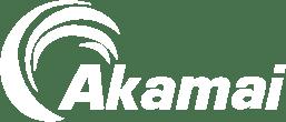 Akamai logo white