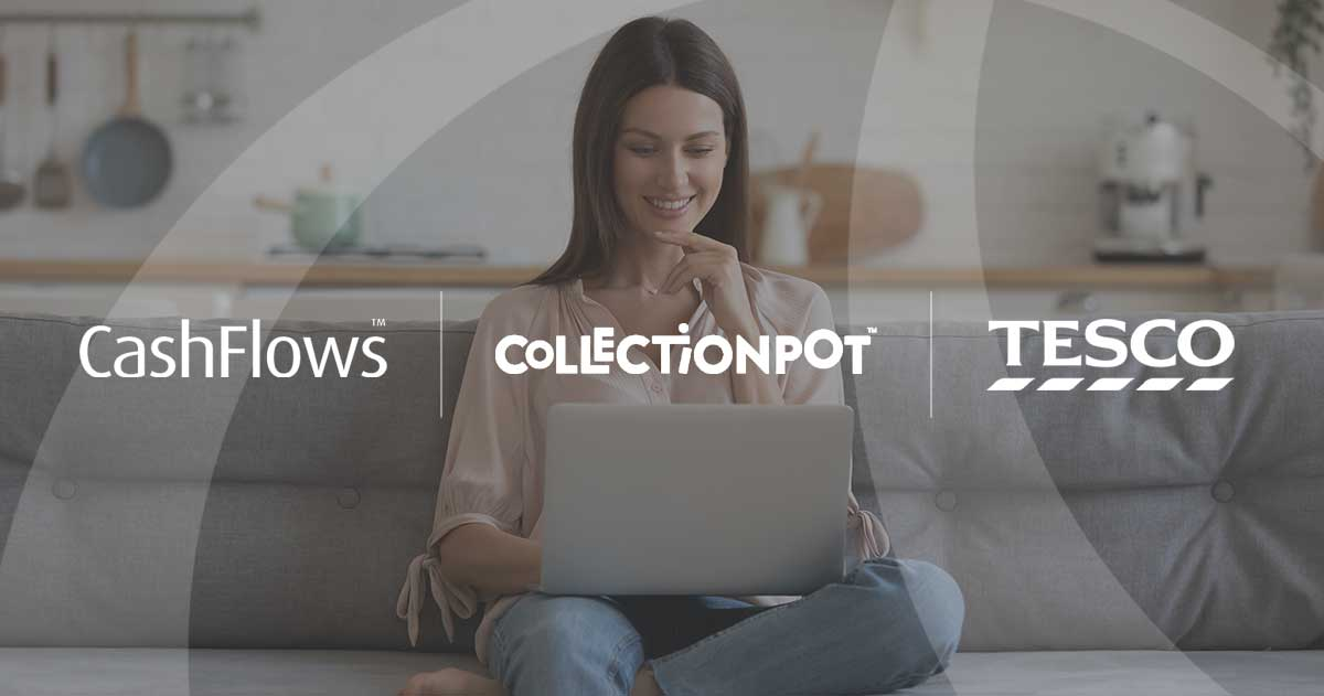 Collection Pot, powered by Cashflows, partners with Tesco