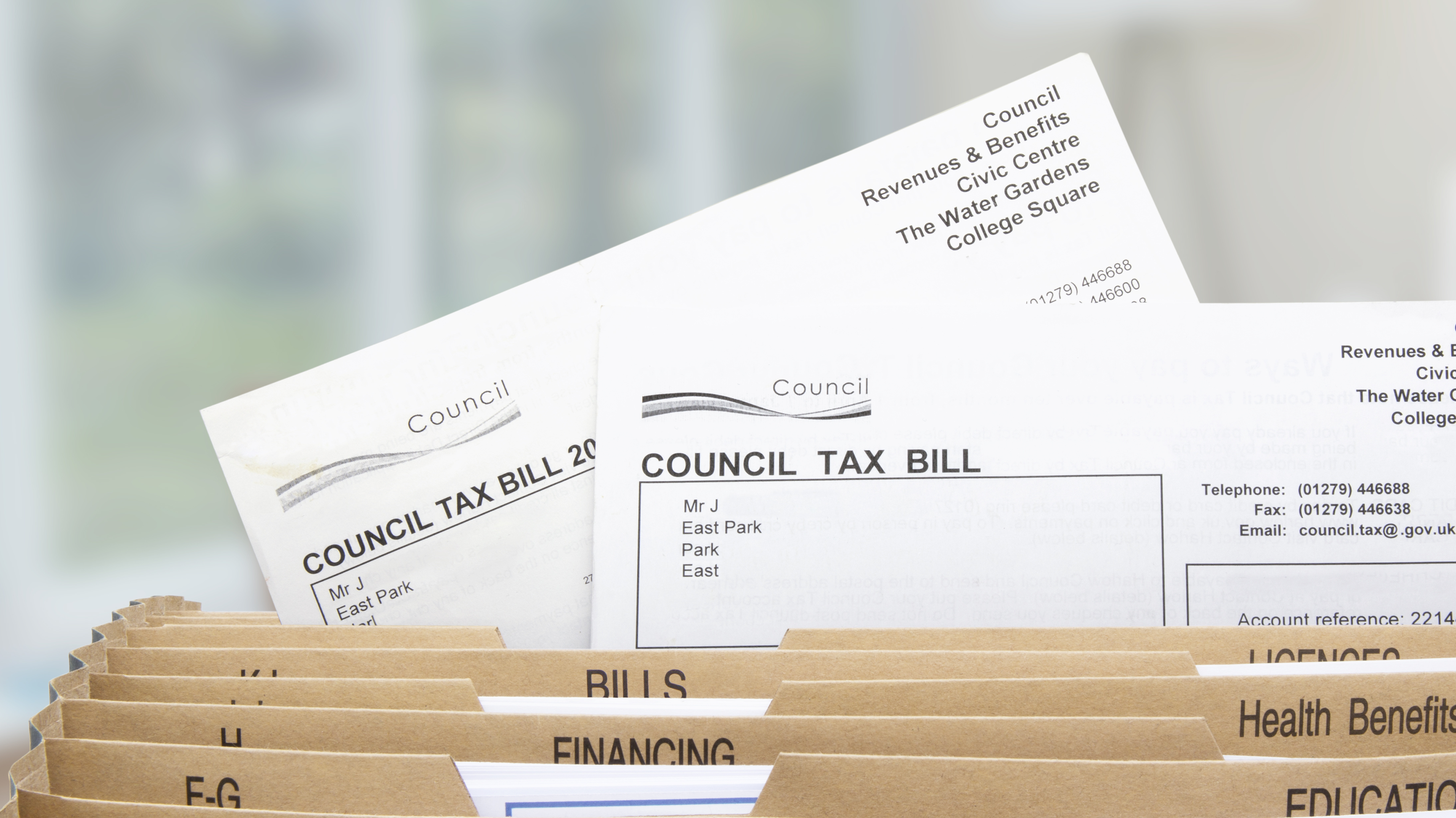 Improving local authority collection rates with a nudge